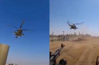 Видео: российско-американские гонки в Сирии