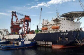 Дания разрешила продолжить строительство газопровода «Северный поток-2»