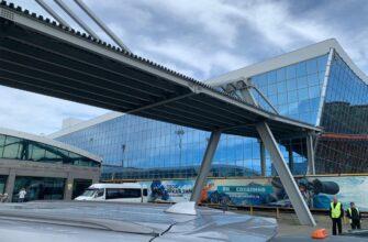 Срок сдачи аэропорта в Южно-Сахалинске сдвинули. Кто виноват?