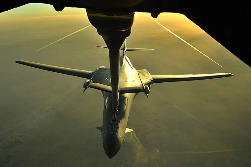 Опасность трансарктических рейдов ракетоносцев B-1B. Удар с севера с расчётом на режим огибания рельефа местности