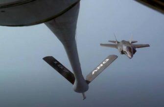 В США заявили о потере истребителя F-35B в результате неудачной дозаправки в воздухе