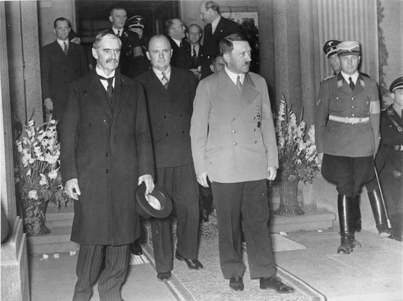 Годовщина Мюнхенского сговора. Позорная страница истории «демократической» Европы