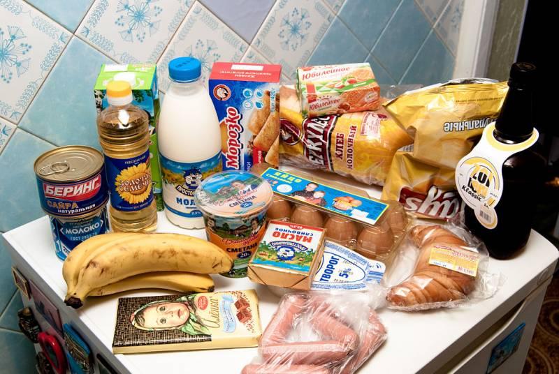Цены на продукты в России выросли втрое выше, чем в Евросоюзе