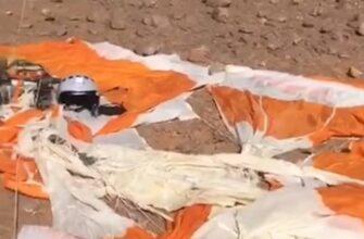 В Сети появилось видео с русскоговорящим лётчиком сбитого самолёта
