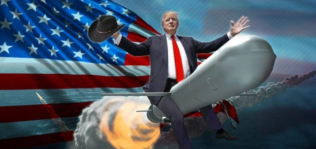 Трамп рассказал о похищении технологии американской «супер-пупер-ракеты» Россией