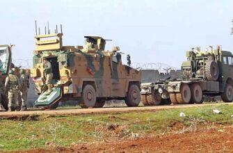 Под конвоем российских военных: турки эвакуируют боевую технику из Хамы