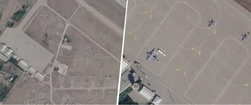 Спутниковые снимки: в прессе США заявили о доказательстве присутствия истребителей F-16 в Азербайджане