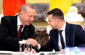 Турция поможет в «деоккупации» Крыма: Зеленский провёл переговоры с Эрдоганом