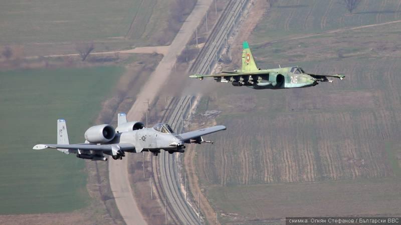Битва штурмовиков. Су-25 против A-10 Thunderbolt II